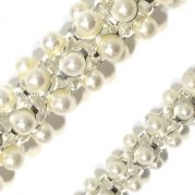 Pearl reticulated chain